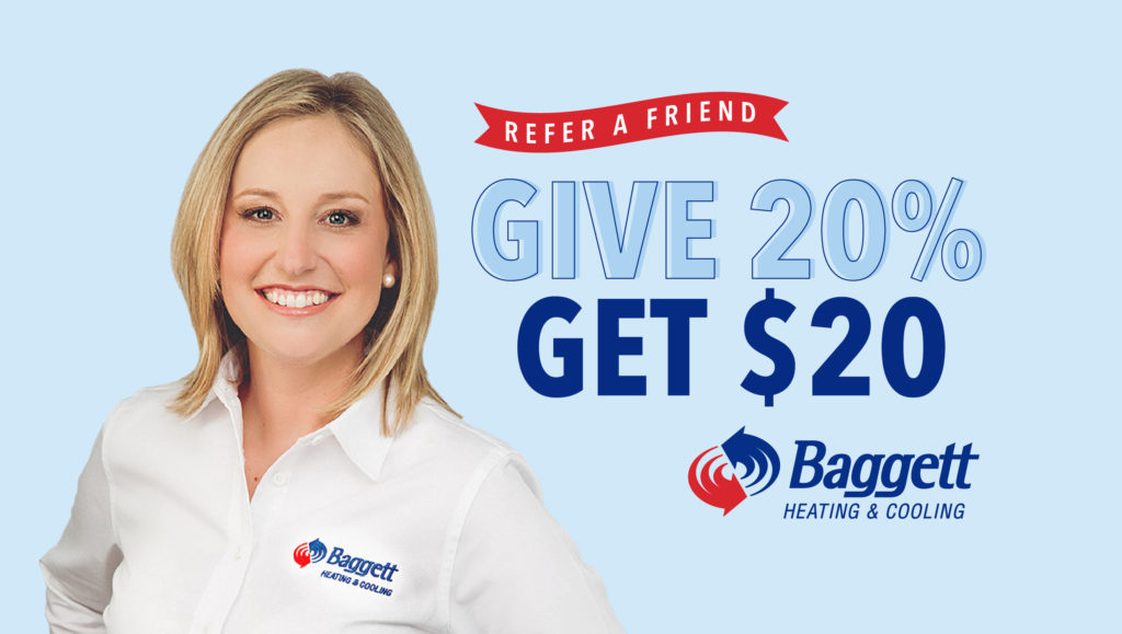 Referral Program Baggett Heating And Cooling